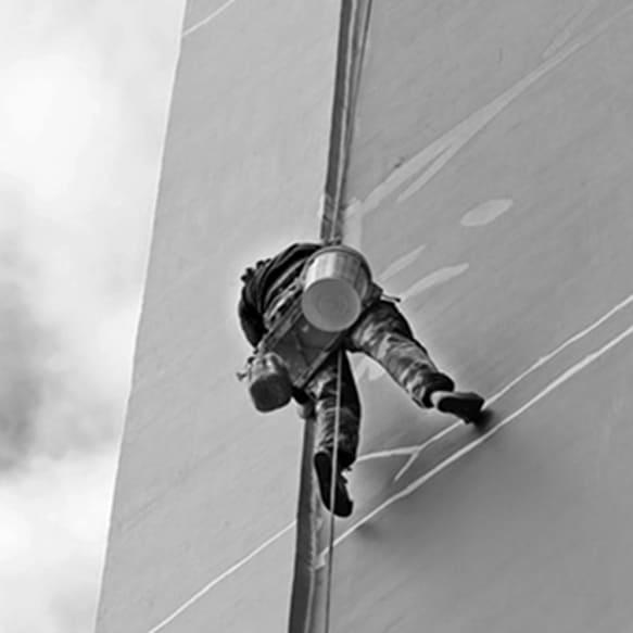 Pintura en fachadas - VERTIPROTECT | Soluciones en altura