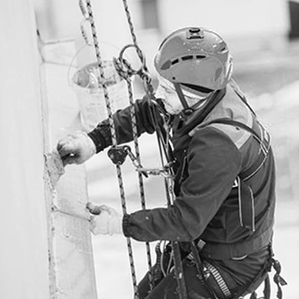 Sellado y colocación de chapa - VERTIPROTECT | Soluciones en altura