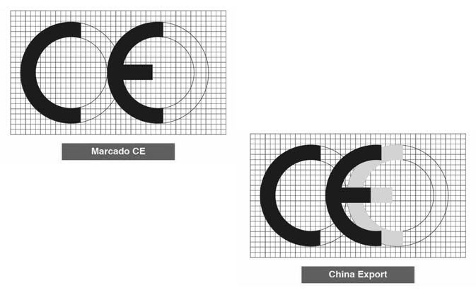 Marcado CE - China export