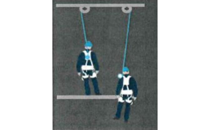 Factor caída en trabajos verticales
